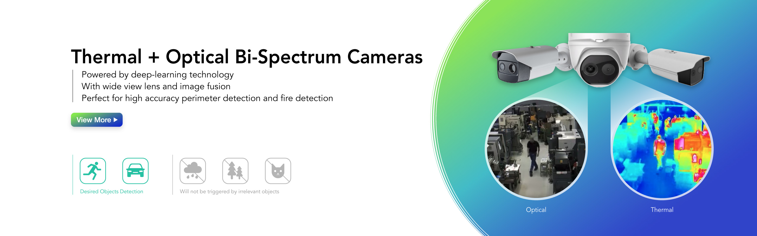 Deep Learning Bi-Spectrum Thermal Imaging Camera