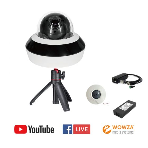 LINO All-In-One Live Streaming Mini PTZ Camera Kit (IPC574-KIT)
