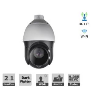 2MP 25X Zoom Network IR PTZ Camera with 4G Access