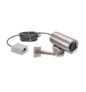 316L stainless steel 1080P Underwater POE IP Camera with motorized lens