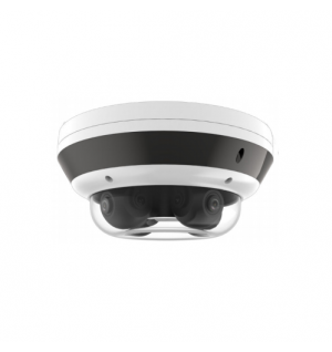 20MP PanoVu Network Camera with 4pcs 5MP Adjustable lens, for Indoor/Outdoor application