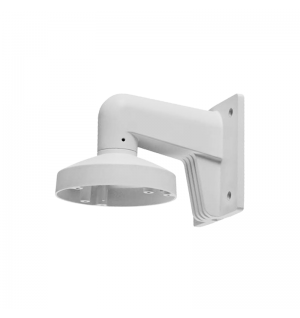 Wall-mount bracket for VF dome camera  white plastic