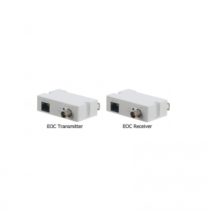 POE IP over Coax Extender (Ethernet over Coax, incl. transmitter and receiver)