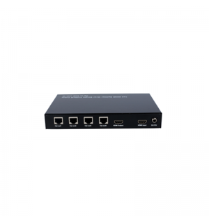 1x4 HDMI Splitter Over Single Cat5e/6 Cable Up to 50M with IR