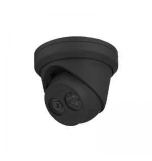 H.265+ 4MP WDR IP turret dome camera(Black)