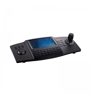 Network keyboard with 800x480 LCD touchpanel