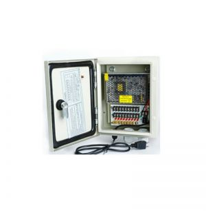 Water resiste 12V 9 PTC OUTPUT CCTV DISTRIBUTED POWER SUPPLY