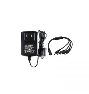 Power adapter DC12V 3A with 4 splitter