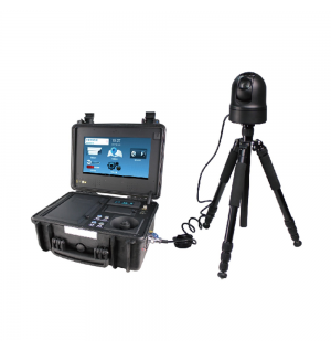 4G HD Portable Intelligent Command Suitcase Support Face Recognition, License Plate Recognition