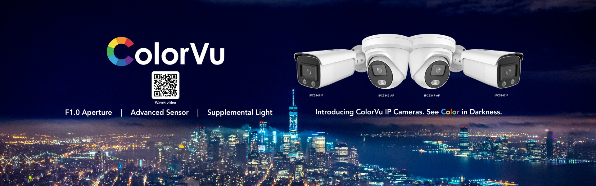 HINO 4MP ColorVu IP Camera